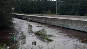 Christine Crouse-Mullins Bridge in Hope Mills on Black Bridge road by the Epco gas station