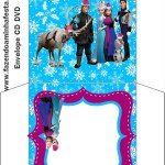 Envelope CD DVD Natal Frozen: