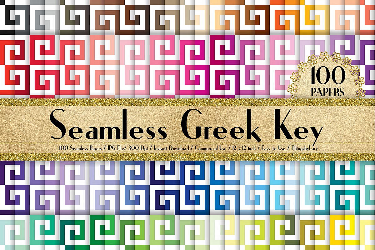Fullsize Of Greek Key Pattern