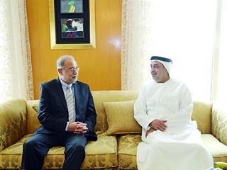 سلطان بن خليفة: القاهرة شريك استراتيجي على مختلف الصعد