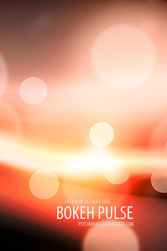 bokeh pulse by Psychopulse 10 Bokeh Wallpapers
