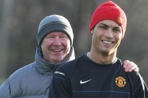 Ferguson spent five years with Ronaldo at Old Trafford