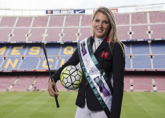 FC Barcelona throws open its doors to equestrian sport