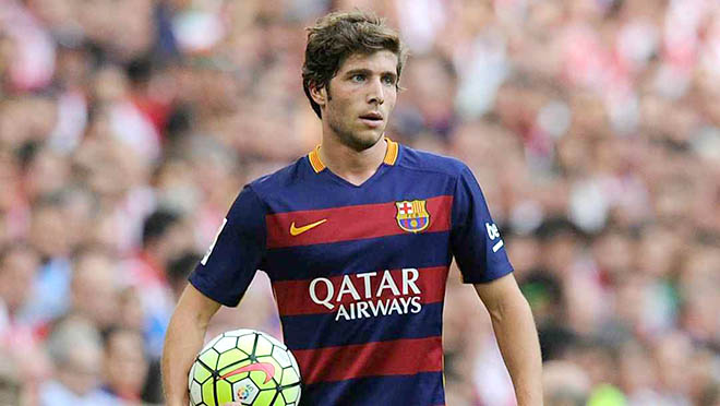 """Enrique about """"Sergi Roberto"""" : he is enchanted with his stay"""
