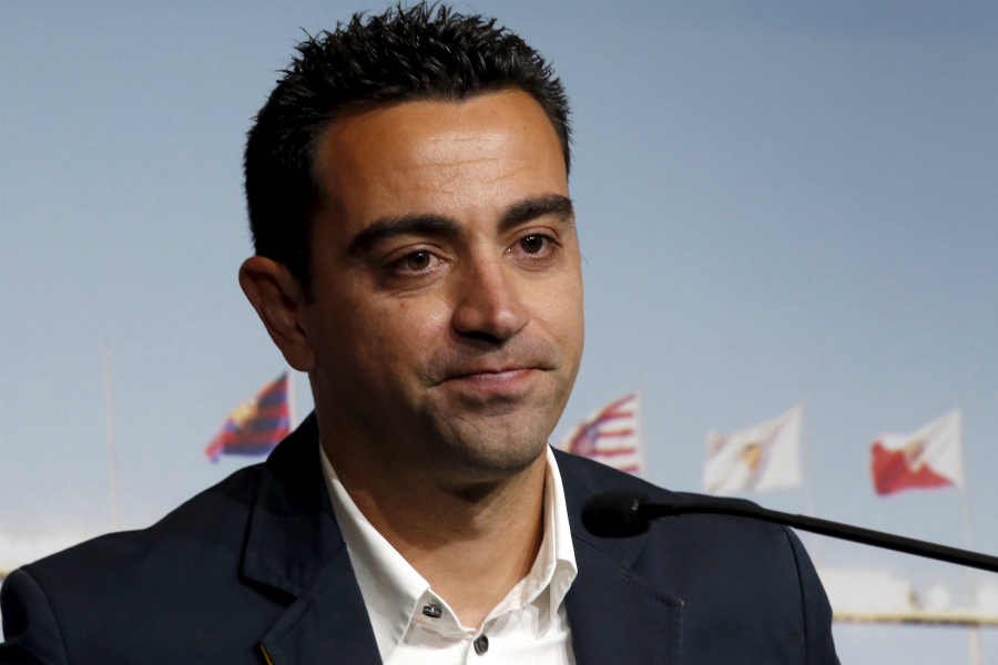 Xavi wants to return and coach Barca