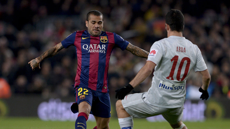 Dani Alves honored by linking with Turan