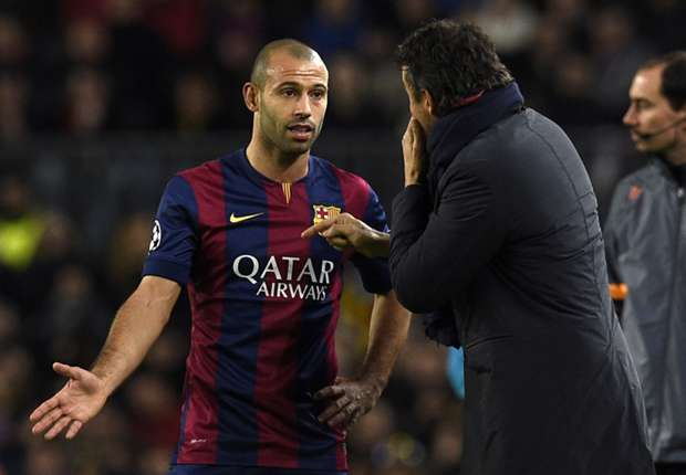 Two match ban for Javier Mascherano