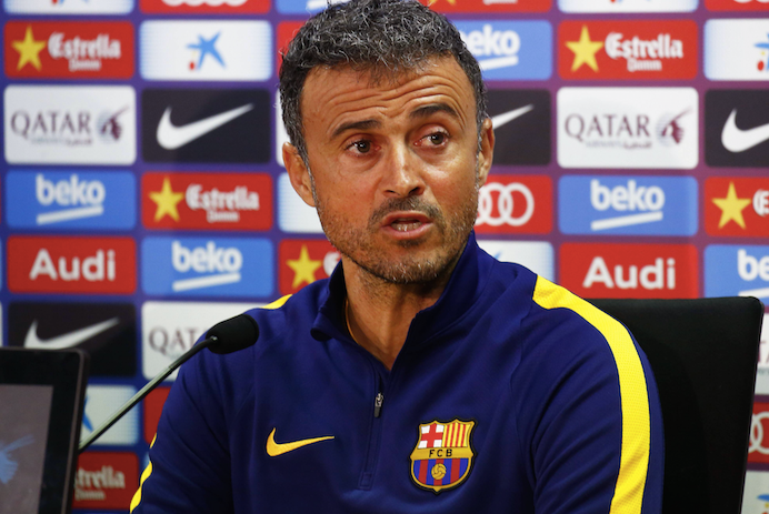 Lucho answers the press about Messi-dependencia