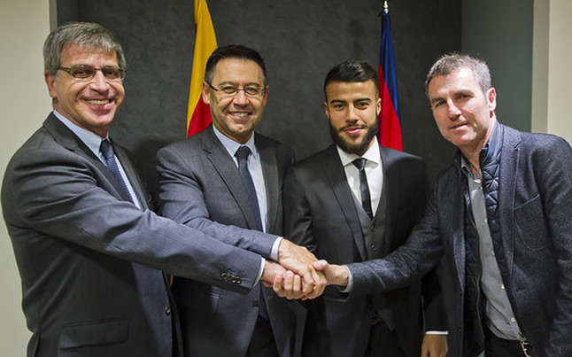 Rafinha signs new Barcelona deal up until 2020