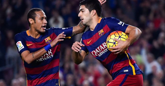 The amazing duo of Suarez & Neymar