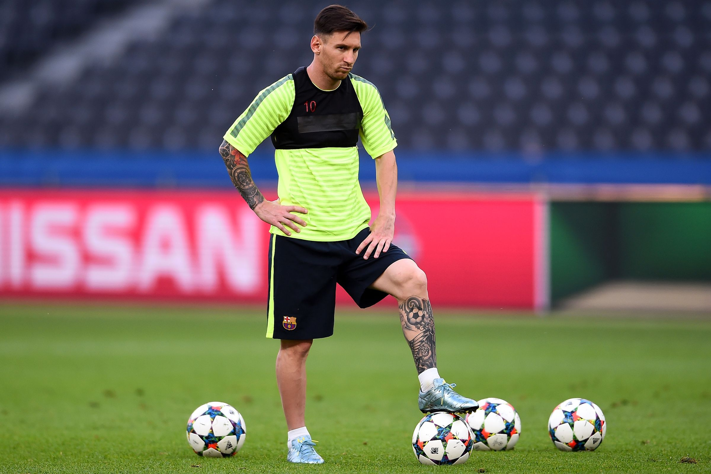 Messi trains normally ahead of Depor game
