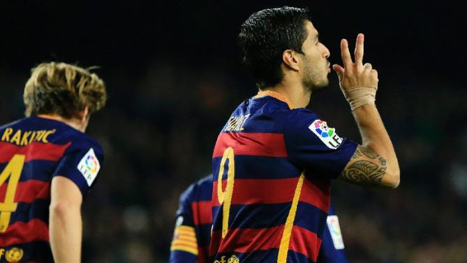 Suarez ends up 2015 as La Liga top scorer