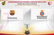 Copa Del Rey 16th final Draw