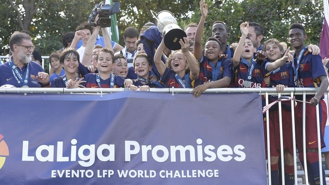 FC Barcelona U14 B team win LaLiga Promises tournament