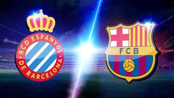 برشلونة واسبانيول بث مباشر