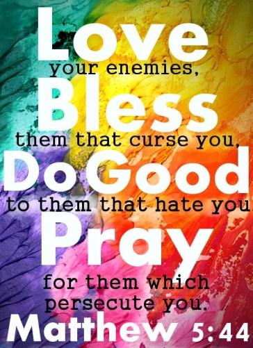 love you enemies