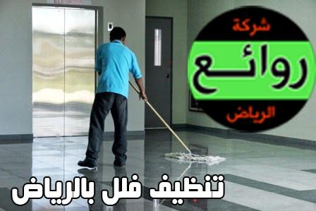 تنظيف الفلل بالرياض