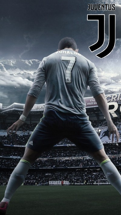 Wallpaper C Ronaldo Juventus iPhone | 2019 Football Wallpaper