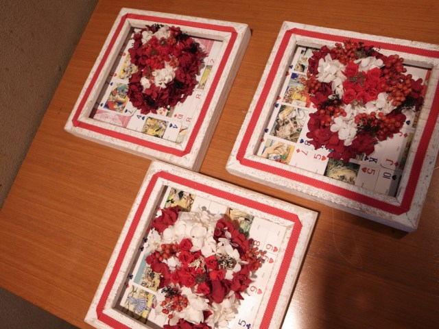 BUDバレンタインフラワーレッスン6