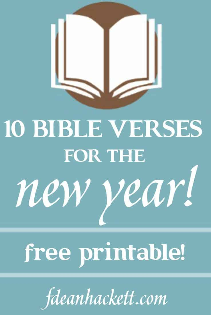 Large Of New Year Bible Verses