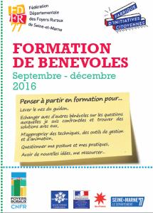 programme de formation 2016