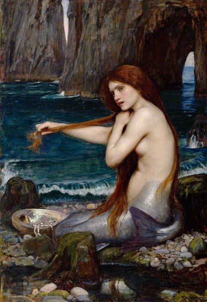 Wicked Wednesday #229 -- Mermaid