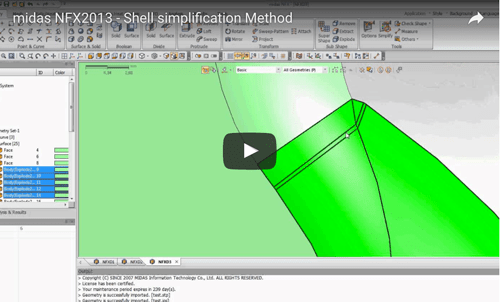 Simplify Shell models for better meshing