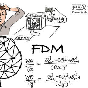 The difference between FEM and FDM