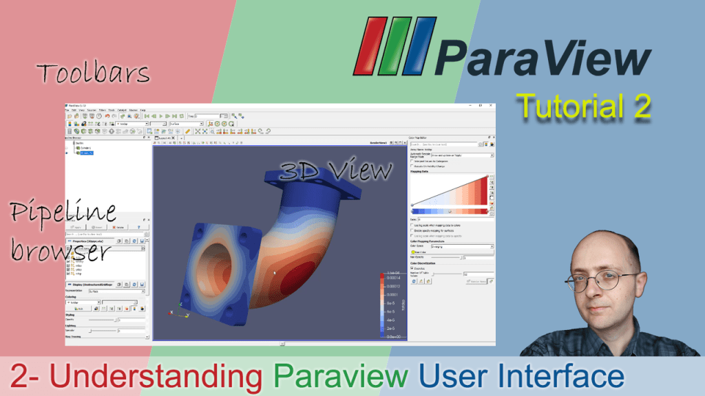 [Paraview Tutorial 2] Understanding the User Interface