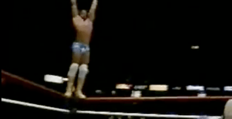 Picture 1 Macho Man Randy Savage vs. Harley Race (9/18/87)