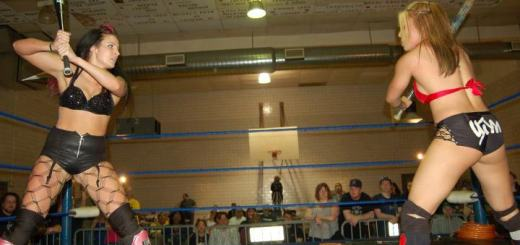 Mia Yim vs. Allysin Kay I Was There: AIWs Girls Night Out 6 (4/15/12)