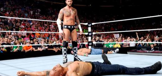 CM Punk The Rock Raw 1000 TV Review: WWE Monday Night Raw (7/24/12)