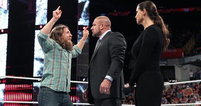 Daniel Bryan Triple H Stephanie McMahon Wrestling Review: WWE Raw (11/25/14)