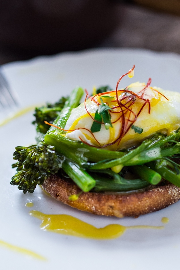 Broccolini Benedict w/ Meyer Lemon Hollandaise | www.feastingathome ...