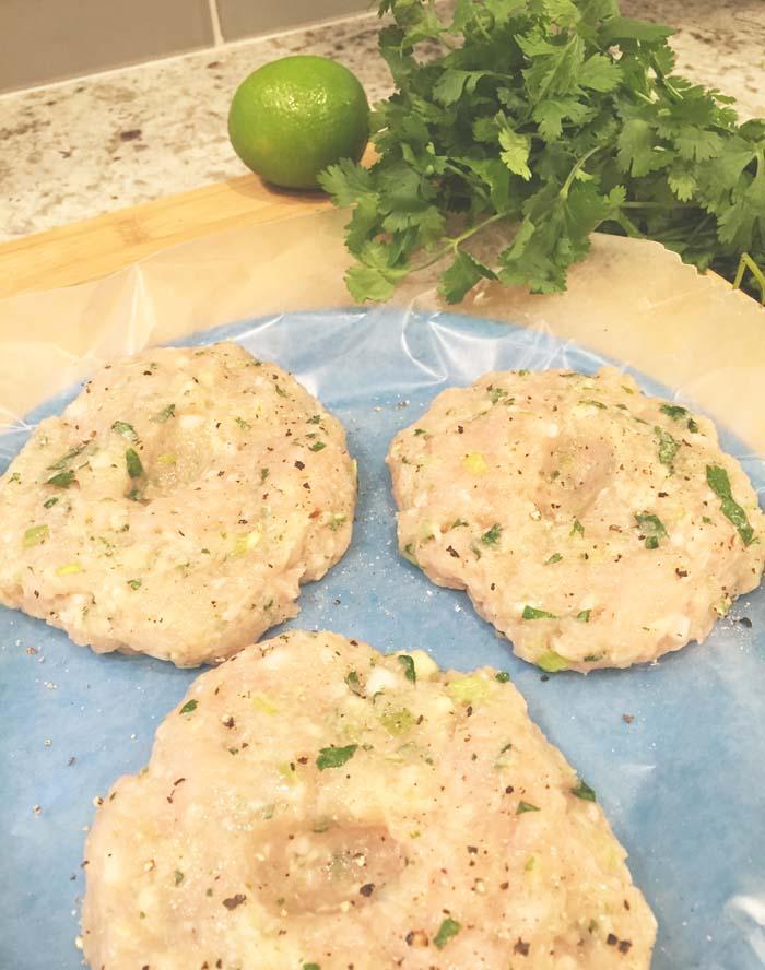 Bahn Mi-Inspired Chicken Burger Recipe | Fed & Fab