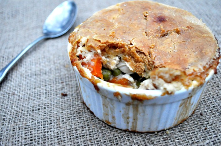 Paleo Mini Chicken and Broccoli Pot Pies