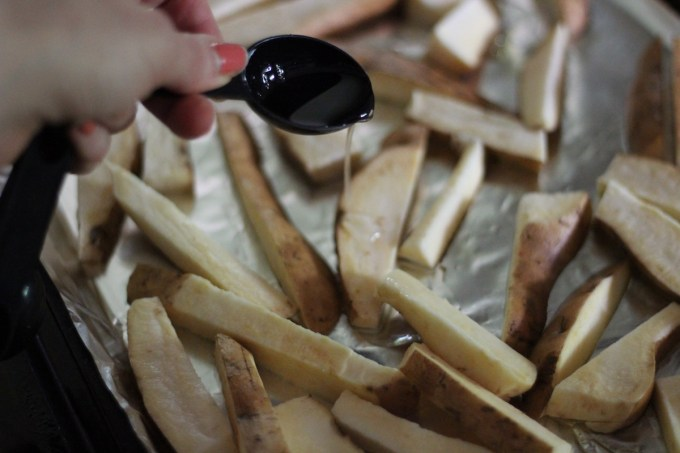 how to cook white sweet potatoes in oven