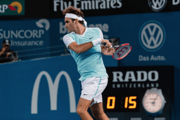 Roger Federer 2016 Brisbane International