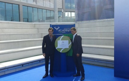 Federer joins Nadal to celebrate official opening of Rafael Nadal Tennis Academy
