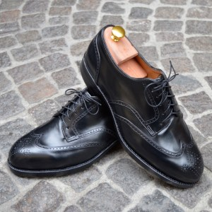 Black Full-Brogue Derby