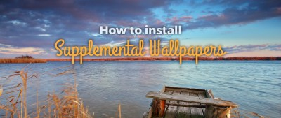 How to install supplemental wallpapers - Fedora Magazine