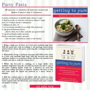 Getting to Yum Party Pasta