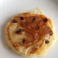 Gluten free, dairy free breakfasts. Option 2 - Scotch or American style pancakes