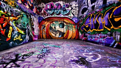 Cool Graffiti Art Wallpaper Free Download