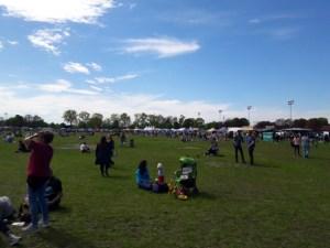 Schitterend weer op de eerste dag van het Street Food Park festival