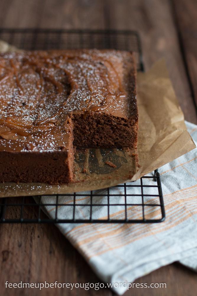Salted Caramel Brownies Jamie Oliver Rezept-1