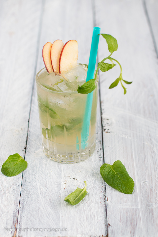 Apple Honey Mule Cocktail Rezept Feed me up before you go-go-1
