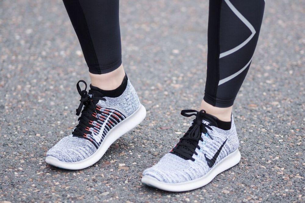 Einstieg in die Lauftechnik Laufen mit Nike Free Flyknit