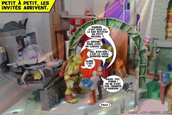 Sacrée soirée ! Les tortues emménagent à New-York