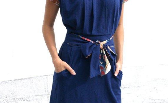 organic summer dress